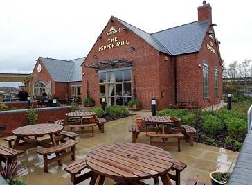 Pepper Mill Stoke in Stoke-on-Trent